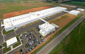 LG Electronics completes a washing machine factory in Tennessee, USA