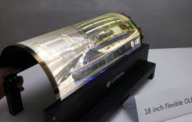 LG Display develops the world's first flexible and transparent OLEDs